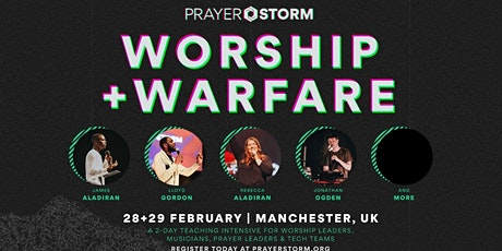 Prayer Storm: School of Worship and Warfare 2020 tickets