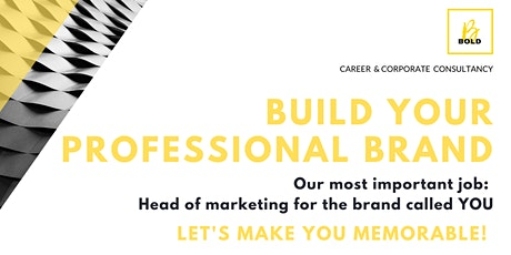 Build Your Professional Brand tickets