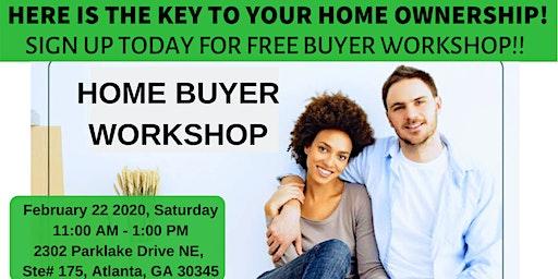 Free Homebuyer Workshop on February 22, 2020