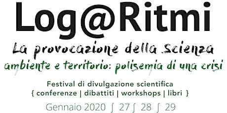 L'Italia tra frane, alluvioni e allagamenti: si può progettare il futuro? biglietti