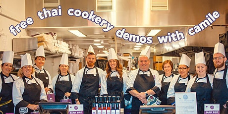 Free Cookery Demo at Camile Thai Tallaght (With Lunch!) tickets
