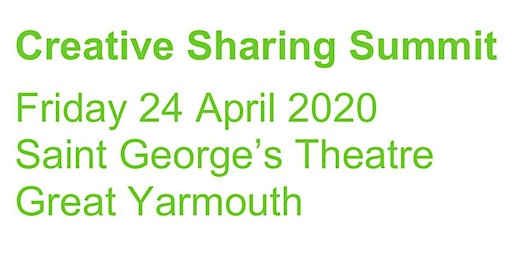 CREATIVE SHARING SUMMIT: Working Together to Create Great Places