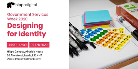 Government Services Week 2020: Designing for Identity tickets