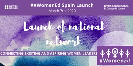 WomenEd Spain Launch Event entradas