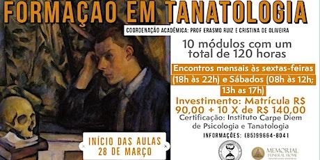 FORMAÇÃO EM TANATOLOGIA ingressos