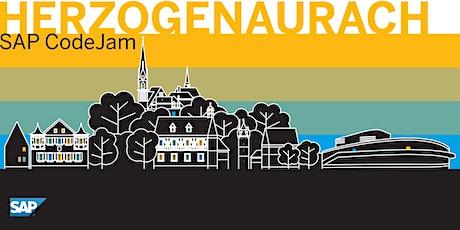 SAP CodeJam Herzogenaurach (SAP Data Hub) billets
