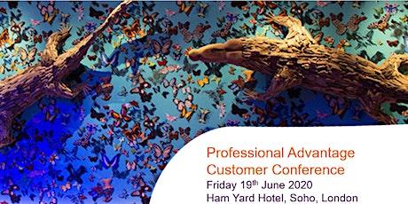 Professional Advantage Customer Conference tickets