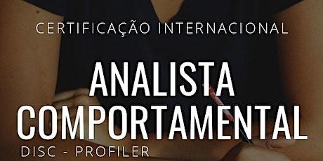 Formação de Analista Comportamental - Disc ingressos