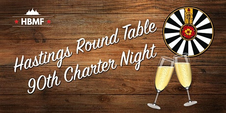 Hastings Round Table 90th Charter Night tickets