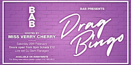 February Drag Bingo tickets