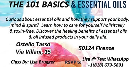 Essential Oils 101 - Curious About Essential Oils & How They Support You?  tickets