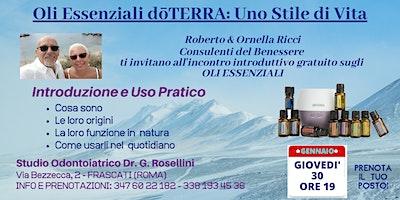 FRASCATI (CASTELLI ROMANI)    Corso Gratuito sugli Oli Essenziali