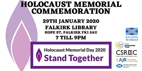 Holocaust Memorial Commemoration tickets