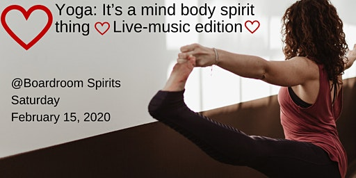 Live Music Yoga - Valentine's Special