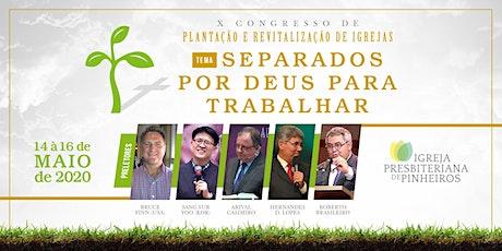 X Congresso de Plantação e Revitalização de Igrejas boletos