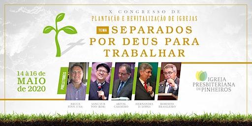X Congresso de Plantação e Revitalização de Igrejas