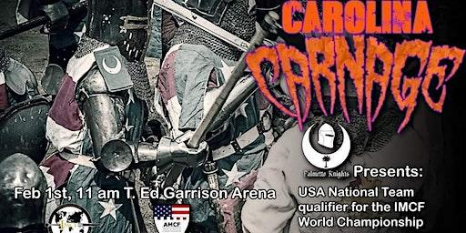 Carolina Carnage- Full Contact Medieval Combat Tourney
