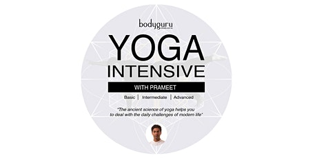 Yoga Intensive with Prameet tickets