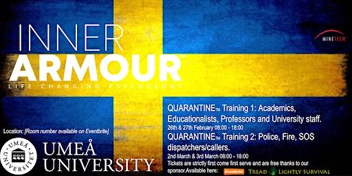 Inner Armour [POLICE/FIRE/SOS CALLERS/DISPATCHERS] QUARANTINE® Training 2