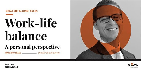 Talk with Francisco Simão | Work-life Balance tickets