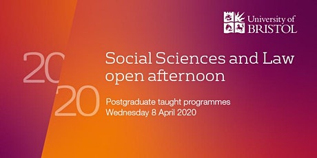 Social Sciences and Law Postgraduate Open Afternoon 2020 tickets