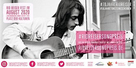 Rio Reiser Songpreis 2020 Tickets