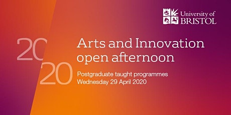 Arts and Innovation Postgraduate Open Afternoon 2020 tickets