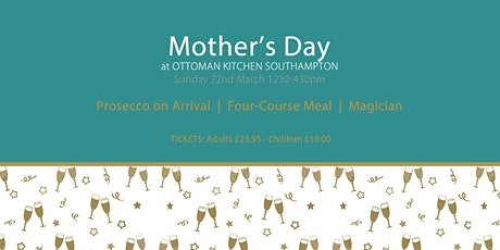 Mother's Day Lunch and Entertainment Southampton tickets