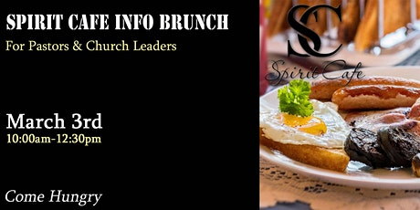 Spirit Cafe Info Brunch tickets