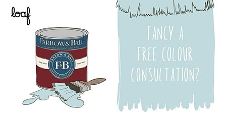 Loaf x Farrow & Ball  - Free Colour Consultations tickets