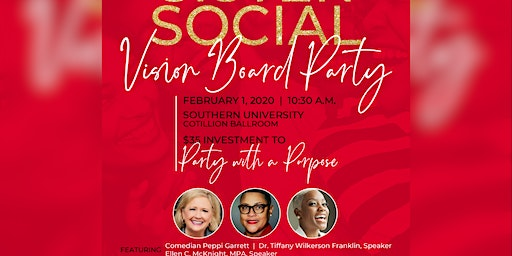 """Sister Social """"We Have The Victory""""  Vision Board Party 2020"""