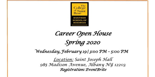 Huether School of Business  Spring 2020 - Career Open House
