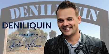 Deniliquin - Peter Williams Medium Searching Spirit Tour tickets