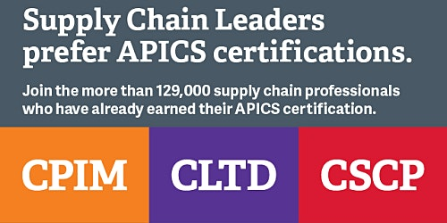 APICS Certifications- Get your questions answered by the education team comprised of people who are APICS certified and who teach the courses offered.