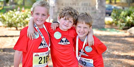 JUST TRYAN IT Kids Triathlon