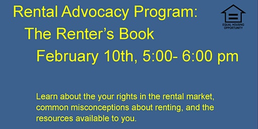 Rental Advocacy Program: The Renter's Book