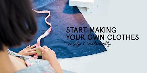 Beginners Sewing Class: The Skirt