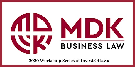 MDK Workshop Series: Marriage Contracts for Businesses  tickets