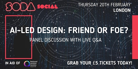 AI Led Design: Friend or Foe? tickets