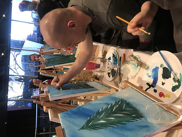 ART N' SIPPING (VALENTINES DAY PAINT PARTY) (19:30-21:30) image