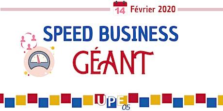 Speed Business GÉANT au Quattro billets