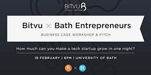 Bath Entrepreneurs X  Bitvu - Business case workshop & pitch