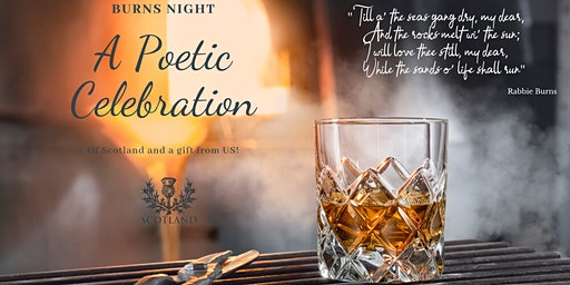 A Poetic Celebration -  Burns Night
