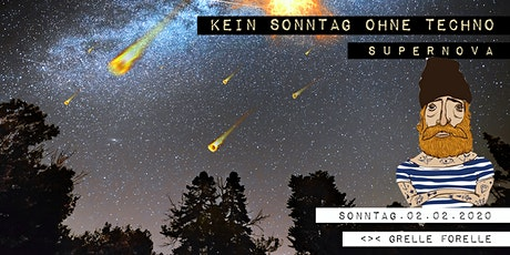 Kein Sonntag Ohne Techno  - Supernova Tickets
