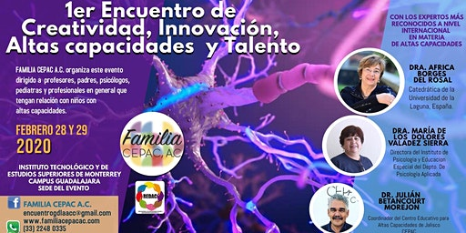 1er Encuentro de creatividad, innovación, altas capacidades y talento