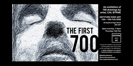 THE FIRST 700 | Cal Byrne | Art Exhibition tickets