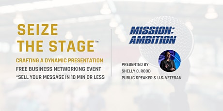 Seize The Stage: Crafting a Dynamic Presentation tickets