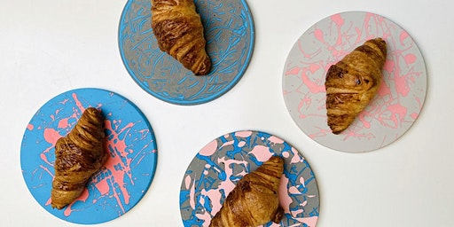 Create your own Jesmonite Platter with Designer-Makers May Wild Studio
