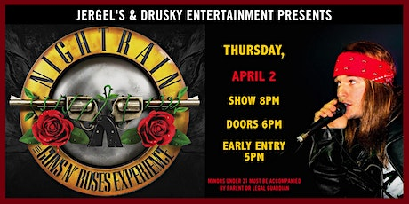 Nightrain - The Guns N Roses Tribute Experience tickets