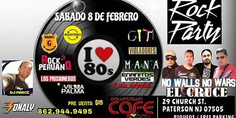 Rock Party 80s by El Cruce tickets
